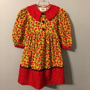 Chicken Noodle Toddler Dress Size 4